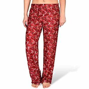 Forever Collectibles NFL Women's Arizona Cardinals Repeat Print Logo Comfy Pants