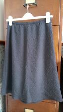 Agnes b Paris, wool mix skirt. Black/Grey. Size 38/UK 10