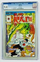 "Rai #7 (9/92 Valiant) 9.4 CGC White Pages (Unity Ch#15) ""Sacrificial Spirit"""