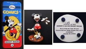 MINT in Original Tin - MICKEY MOUSE STATUE #223 of 500 - DARK HORSE and DISNEY