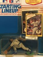 1990 Gary Sheffield Starting Lineup figure toy Milwaukee Brewers Rookie Card MLB