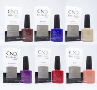 "CND Wild Earth Collection Fall 2018 Shellac Gel Nail Polish ""Choose Any"" 0.25 oz"