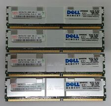 16GB (4 X 4GB) HYNIX DELL PC2-5300F SERVER RAM KIT FREE UK DELIVERY 30DayWarr