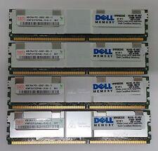 16 GB (4 x 4 GB) Hynix server Dell PC2-5300F di RAM KIT DI consegna gratuita nel Regno Unito 30 daywarr