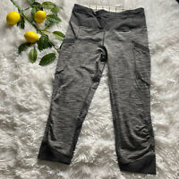 Lululemon Run For Fun Crop We Are From Space Gray Size 4