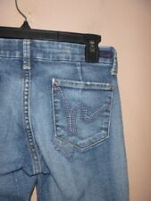 CITIZENS OF HUMANITY DUNAWAY # 087 LOW WAIST FULL LEG JEANS SIZE 25... WOW!!!