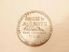 promotional token for Alemite Winter Gear Lubricant