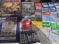 Games Workshop Man o War Sea of Blood Expansion Board Game Complete lot 551