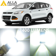 Alla Lighting Brake Tail Light 3157K 4157K Super White LED Bulbs for Ford Escape