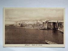 GALLIPOLI riviera di scirocco Lecce vecchia cartolina