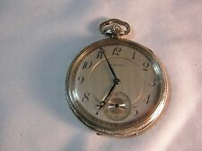 HOWARD BOSTON GOLD FILLED POCKET WATCH AND MOVEMENT ANTIQUE 17 JEWEL      T*