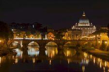 ST PETERS BASILICA ROME CITYSCAPE POSTER 24x36 HI RES