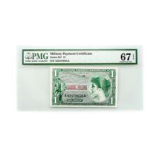US MPC Series 651 1 Dollar PMG 67 Superb Gem Unc. EPQ