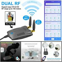 Sonoff RF Bridge 315/433 MHz Dual Wifi Wireless Remote Control Smart Home Switch