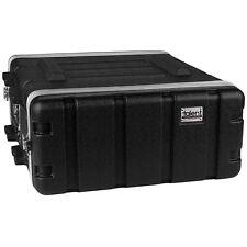 "Talent RC4U19 ABS Rack Case 4U 19"" Depth 4 Space Grey New"