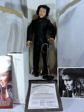 """Ashton Drake """" The '68 Comeback Special """"  Elvis Presley Porcelain Doll In Box"""