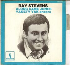 "RAY STEVENS ""ALONG CAME JONES / YAKETY YAK"" 60'S SP PMONUMENT 680028"