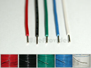 RGB+CCT 6-Core AWG20 0.48mm² LED Strip Cable Wire Extension RGB CW Multicolor UK
