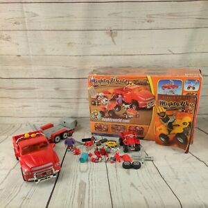 Mighty world adventures player car truck figures  accessories Playmobil style