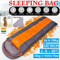 Portable Outdoor Sleeping Bag Warm Cold Weather Waterproof beds for All