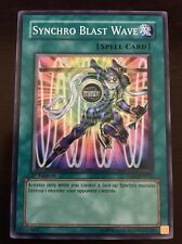 5DS1-EN021 Yugioh! SYNCHRO BLAST WAVE 1st Edition SPELL CARD Near Mint x1