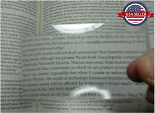 3 pcs Credit Card Size Pocket 3X Magnifier Fresnel Magnifying  Lens. USA seller