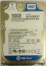 "Western Digital Scorpio Blue WD1600BEVT 160GB SATA Notebook Festplatte 2,5"" NEU"