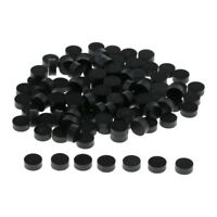 Pack of 100 Acrylic Fingerboard Dots Markers 6.3x2.5mm for Acoustic Guitars