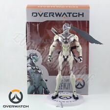 New ! Games Overwatch Ninja Cyborg Genji 24cm/9.6'' PVC Figure In Box