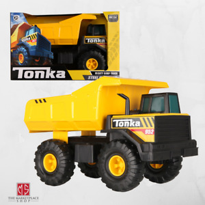 Tonka Steel Classics Mighty Dump Truck Construction Vehicle