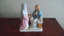 C Homco Porcelain Bible Figurine Greatest Stories Ever Told Living Water