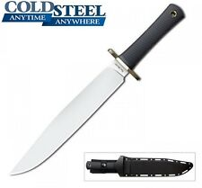 Cold Steel - TRAIL MASTER Bowie Knife O-1 Carbon Steel w/ Sheath 39L16CT NEW