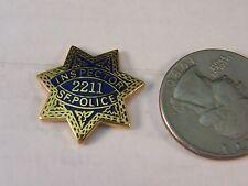 INSPECTOR SAN FRANCISCO POLICE MINI BADGE PIN (STYLE #223)