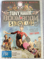 TONY HAWK IN BOOM BOOM SABOTAGE BRAND NEW SEALED R4 DVD
