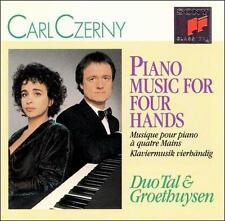 Carl Czerny: Piano Music for Four Hands (CD, Jan-1991, Sony Classical Essential