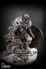 DG Artwork Viking Warrior Wolf Hunter inc. scenic base 75mm figure Unpainted kit