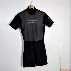 MARES Wetsuit Shorty 2.0 mm Wet Suit Mens S black/gray neoprene/nylon