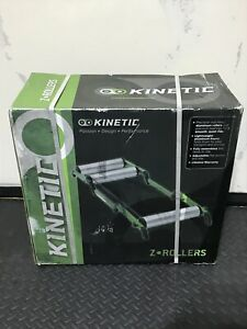 Kinetic Bicycle Roller - Z Rollers - New In Box - Kinetic Z-Rollers Trainer