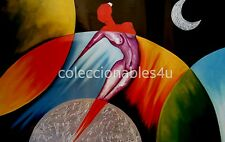 POSTER painting print  22x33 art abstract