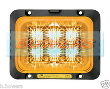 Delta Diseño Ecco securiled 12v/24v LED ámbar strobe/hazard/warning Lámpara pára