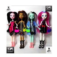 Monster High Draculaura Doll Lot Set 4Pcs , children best gift Wholesale fashion