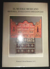 El mueble mexicano - 1985 - C. Aguilera ... Meuble mexicain ancien - antiquité