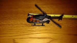 """Vintage Hot wheels 1989 PLANET HOTWHEELS CUSTOMS SERVICE HELICOPTER 3.5"""" #14"""