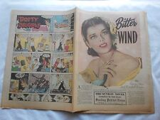 -BITTER WIND-THE SUNDAY NOVEL-PATRIOT-NEWS-HBG,PA-JANUARY 18,1953