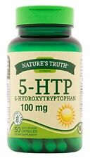 Natures Truth 5 HTP 100mg Hydroxytrytophan Quick Release 50 Capsules Each