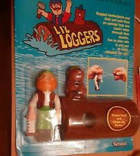 Lil Loggers Ranger Rick and Chops the Beaver 1982 Kenner Nrfc