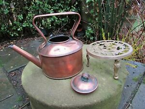 VINTAGE COPPER KETTLE / WATERING CAN