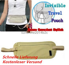 Reisen Sport Tasche Versteckte Compact Sicherheit Geld-Gürtel-Halter-Taschen *9