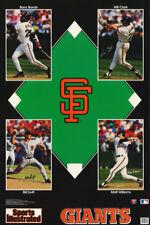 LOT OF 2 POSTERS: MLB BASEBALL :SAN FRANCISCO GIANTS STARS 1993   #7570   RC51 B