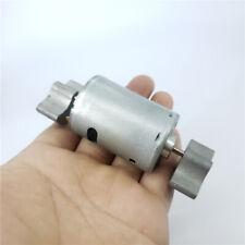 DC 12V 24V 555 Motor Strong Vibration Vibrating Motor Dual Vibrator DIY Massager